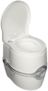Click Here To View The Thetford Porta Potti 550E Curve Portable Toilet - Great For RVing, Boating, Camping, Fishing, Hunting, Trucking, Vans, Potty Training, Emergencies, and More!