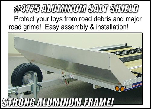 Triton 04775 Snowmobile Trailer Aluminum Salt Shield triton xt4 5 10 foot aluminum single sled tilt bed snowmobile newman sled bed trailer wiring diagram at aneh.co