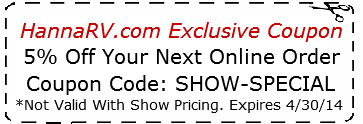 RV Show Coupon 2014
