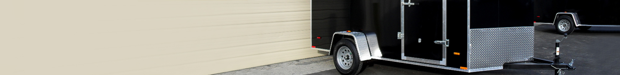 steel cargo trailer enclosed sale