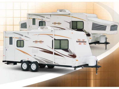 2011 Crossover TLX190T Rental Travel Trailer