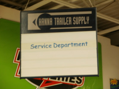 Hanna Trailer Supply Service Department Full Service RV And Trailer Repairs!