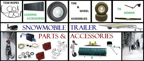 Shop Snowmobile Trailer Parts And Accessories - Trailer Parts - Trailer Tire And Wheel - Tie Downs - Loading Accessories - Hot Buys - Hubs And Bearings - Lights And Wiring - Towing Products - Locks And Security - Brake Parts - Jacks And More At Hanna Trailer Supply - Buy Online At HannaRV.com
