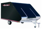 TRITON TC-118 ALUMINUM SNOWMOBILE & ATV TRAILER