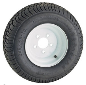 snowmobile Trailer tire and wheels