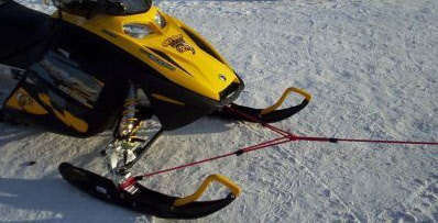 Snowmobile trailer parts and accessories